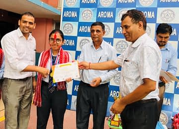 Aayushma Bastakoti- WINNER of Extempore with statement District level competition