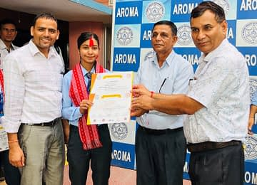 Anjali Ghimire- WINNER of District level Sketch Competition