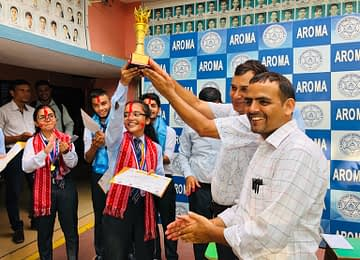 Anuradha Poudel - WINNER of District level Public Speaking Competition