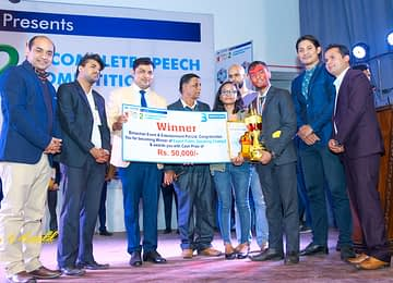Saugat Acharya - WINNER of Expert Public Speaking Champ-2