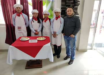 Team AROMA –RUNNER UP in Inter College Culinary Cooking Competition